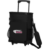 30 Can Black Rolling Cooler Bag-PhilaU Rams