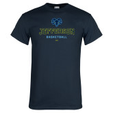 Philadelphia Navy T Shirt-Basketball