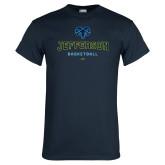 Philadelphia Navy T Shirt-Basketball