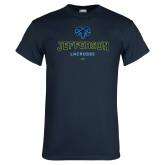 Philadelphia Navy T Shirt-Lacrosse