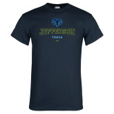 Philadelphia Navy T Shirt-Track