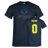 Philadelphia Navy T Shirt-Primary Mark, Custom Tee w/ Name and #