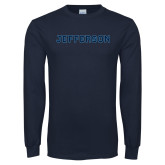 Philadelphia Navy Long Sleeve T Shirt-Jefferson