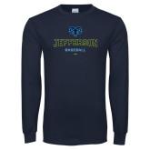 Philadelphia Navy Long Sleeve T Shirt-Baseball