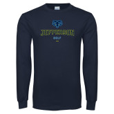 Philadelphia Navy Long Sleeve T Shirt-Golf