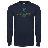 Philadelphia Navy Long Sleeve T Shirt-Golf