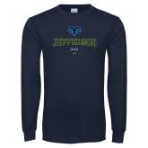 Philadelphia Navy Long Sleeve T Shirt-Dad