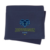 Navy Sweatshirt Blanket-Primary Mark