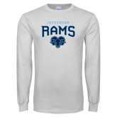Philadelphia White Long Sleeve T Shirt-Jefferson Rams