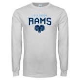 Philadelphia White Long Sleeve T Shirt-Jefferson Rams