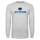 Philadelphia White Long Sleeve T Shirt-Lacrosse