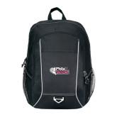 Atlas Black Computer Backpack-PhilaU Rams