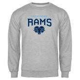 Grey Fleece Crew-Jefferson Rams