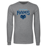Philadelphia Grey Long Sleeve T Shirt-Jefferson Rams