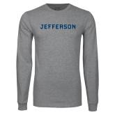 Philadelphia Grey Long Sleeve T Shirt-Jefferson