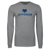 Philadelphia Grey Long Sleeve T Shirt-Dad