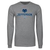 Philadelphia Grey Long Sleeve T Shirt-Dad