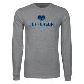 Philadelphia Grey Long Sleeve T Shirt-Alumni