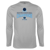 Performance Platinum Longsleeve Shirt-2018 Mens Basketball Champions