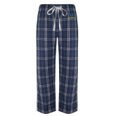 Philadelphia Navy/White Flannel Pajama Pant-Primary Mark