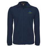 Philadelphia Fleece Full Zip Navy Jacket-Primary Mark