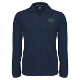 Philadelphia Fleece Full Zip Navy Jacket-Jefferson Rams
