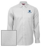 Philadelphia Red House White Diamond Dobby Long Sleeve Shirt-Primary Mark