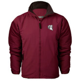 Maroon Survivor Jacket-Ram Head