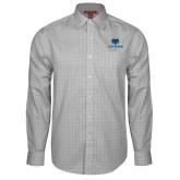 Philadelphia Red House Grey Plaid Long Sleeve Shirt-Primary Mark