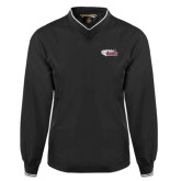 Black Executive Windshirt-PhilaU Rams