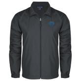 Full Zip Charcoal Wind Jacket-Jefferson Rams
