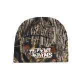 Mossy Oak Camo Fleece Beanie-PhilaU Rams