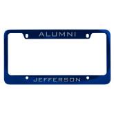 Philadelphia Alumni Metal Blue License Plate Frame-Alumni