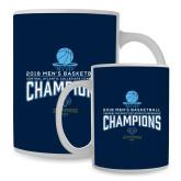 Full Color White Mug 15oz-2018 Mens Basketball Champions
