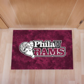 Full Color Indoor Floor Mat-PhilaU Rams