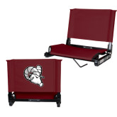 Stadium Chair Maroon-Ram Head