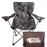 Hunt Valley Camo Captains Chair-PhilaU Rams