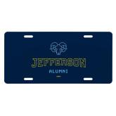 Philadelphia License Plate-Alumni