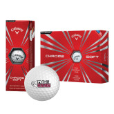 Callaway Chrome Soft Golf Balls 12/pkg-PhilaU Rams