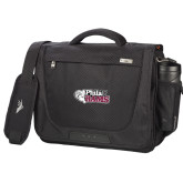 High Sierra Black Upload Business Compu Case-PhilaU Rams