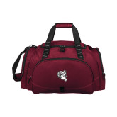 Challenger Team Maroon Sport Bag-Ram Head