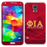 Galaxy S5 Skin-Greek Letters Stacked