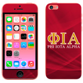iPhone 5c Skin-Greek Letters Stacked