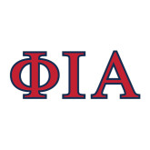 Large Decal-Official Greek Letters Two Color