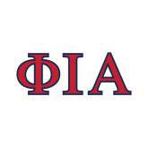 Small Decal-Official Greek Letters Two Color