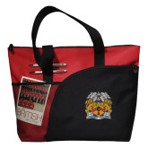 Excel Red Sport Utility Tote-Crest