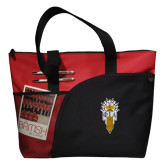 Excel Red Sport Utility Tote-Badge