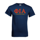 Navy T Shirt-Chapter Name