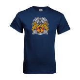 Navy T Shirt-Crest