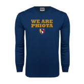 Navy Long Sleeve T Shirt-We Are PHIOTA